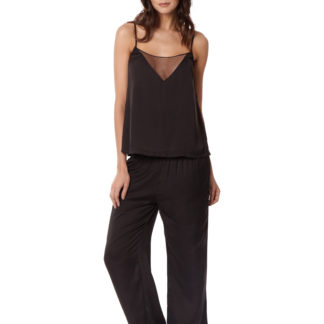 Bluebella Caitlin Black Camisole and Trouser Set