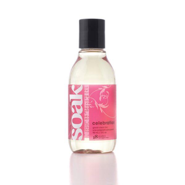 Soak Wash Celebration 90ml Travel Size Bottle