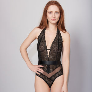 Lepel London Sophia Black Lace Body