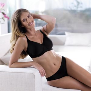 Anita Tonya Post-Surgery Bra Black
