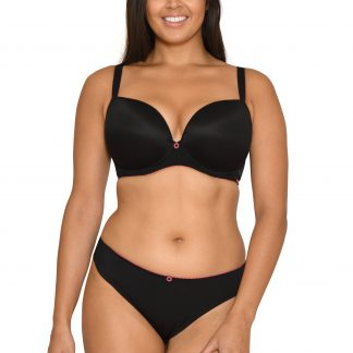 Curvy Kate Smoothie Soul Moulded T-Shirt Bra Black