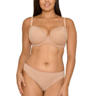 Curvy Kate Smoothie Soul Moulded T-Shirt Bra Latte